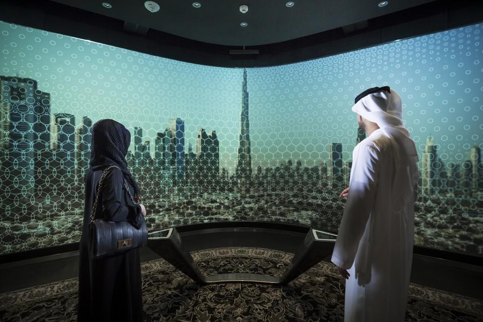 At the Top Burj Khalifa - GSM Project - design & production